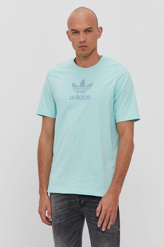tyrkysová adidas Originals - Tričko