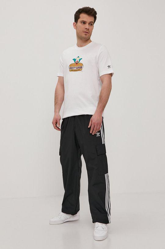 adidas Originals - T-shirt x The Simpsons biały