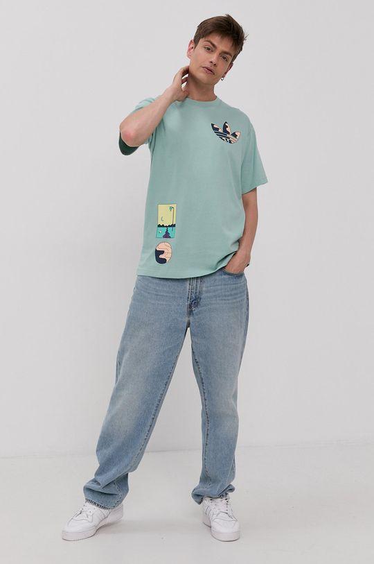 adidas Originals - Tričko mátová