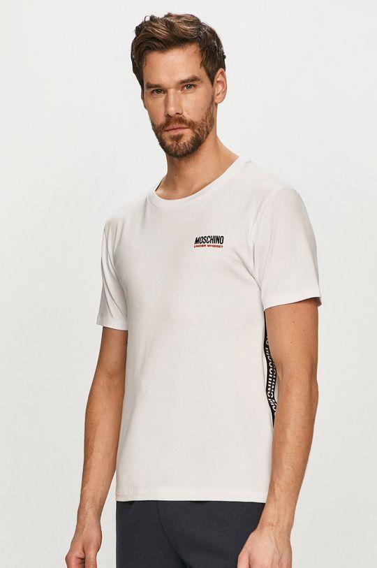 alb Moschino Underwear - Tricou De bărbați