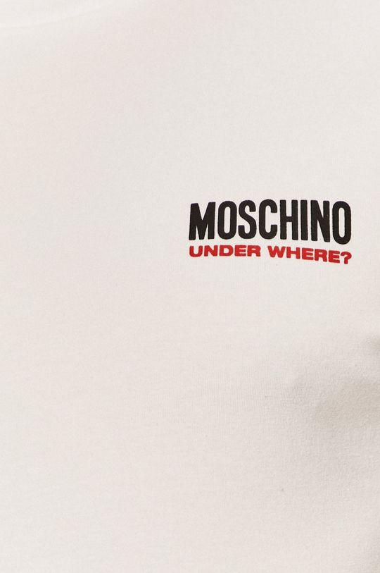 alb Moschino Underwear - Tricou