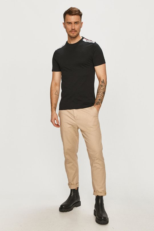 Moschino Underwear - T-shirt czarny