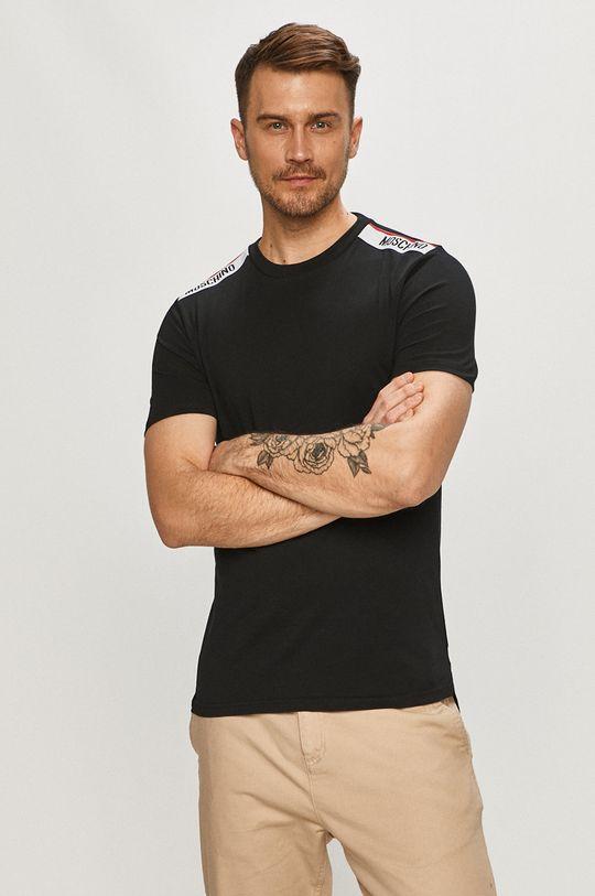 czarny Moschino Underwear - T-shirt