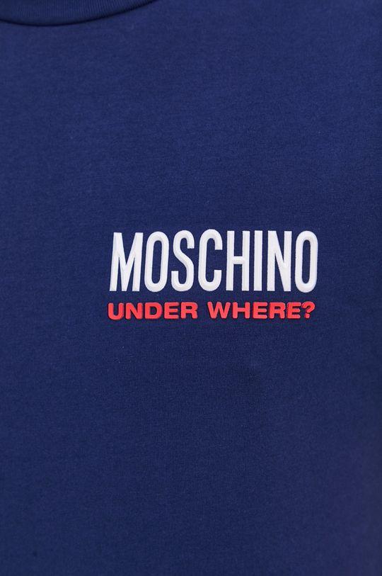 niebieski Moschino Underwear - T-shirt