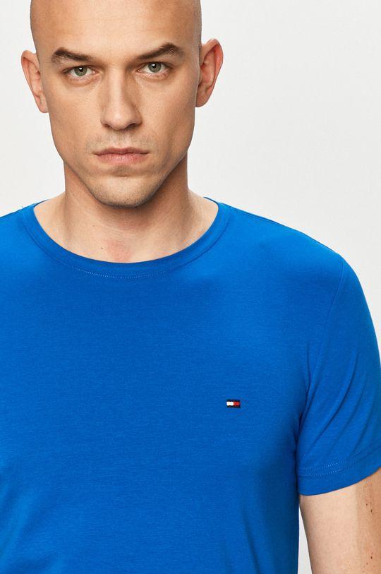 niebieski Tommy Hilfiger - T-shirt Męski