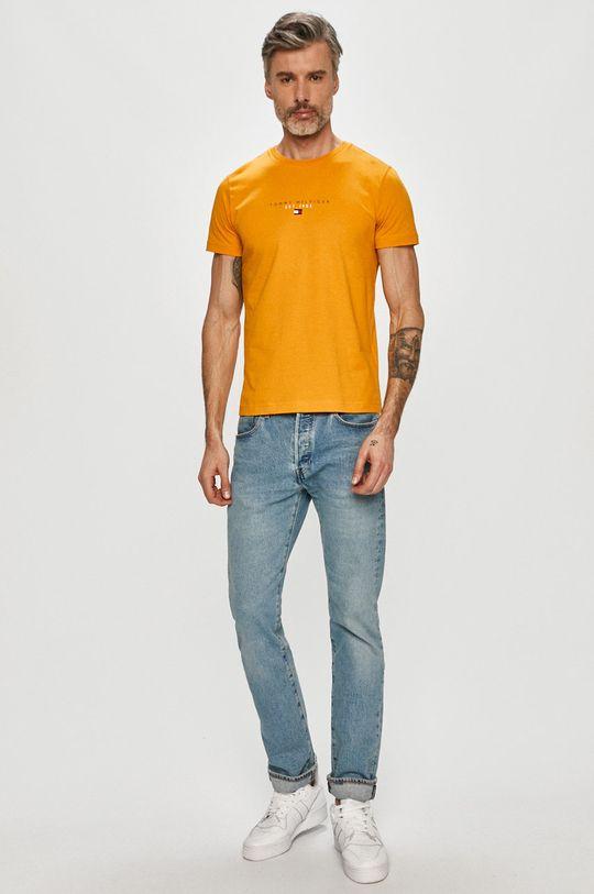 Tommy Hilfiger - Tričko žlutá