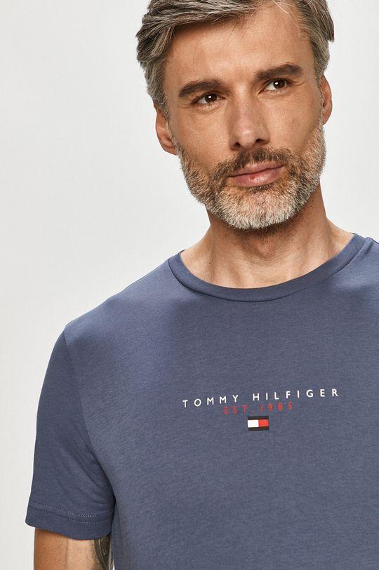 oceľová modrá Tommy Hilfiger - Tričko