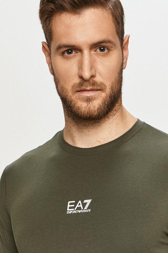 okrová EA7 Emporio Armani - Tričko
