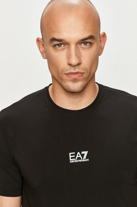 černá EA7 Emporio Armani - Tričko Pánský