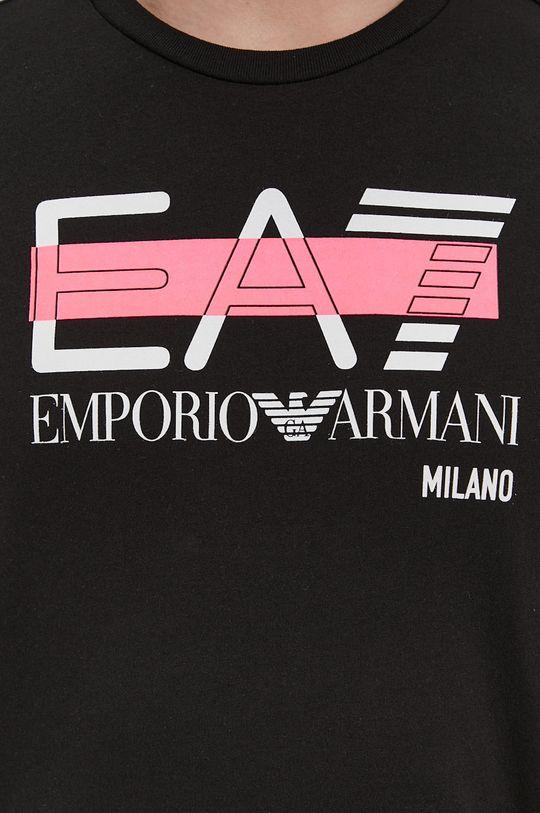černá EA7 Emporio Armani - Tričko