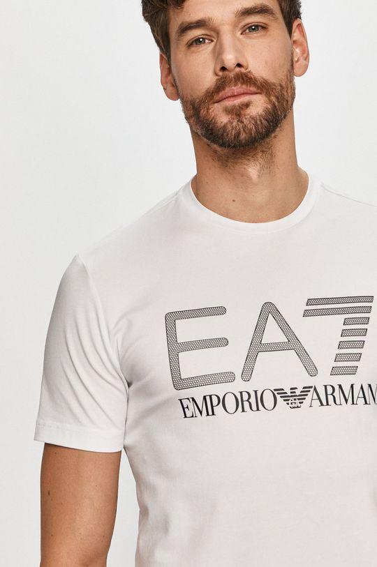 alb EA7 Emporio Armani - Tricou De bărbați