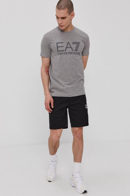 EA7 Emporio Armani - Tričko sivá