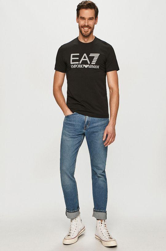 EA7 Emporio Armani - Tricou negru