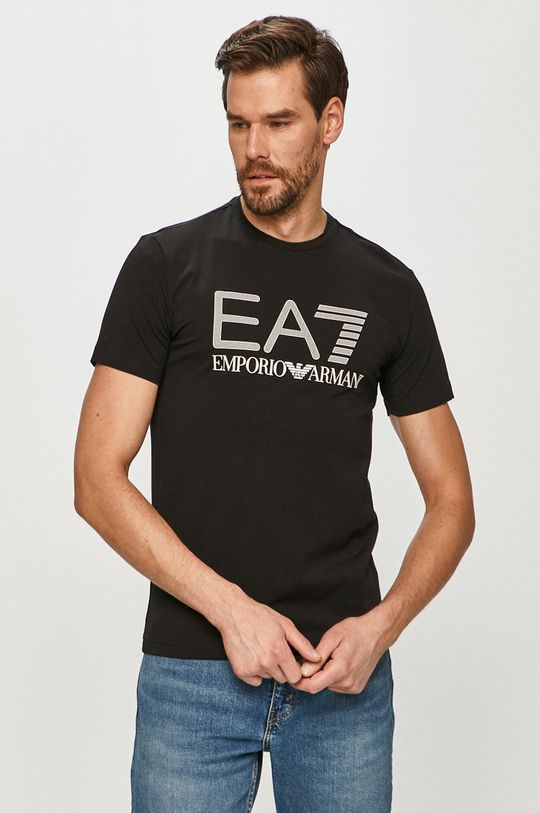 negru EA7 Emporio Armani - Tricou