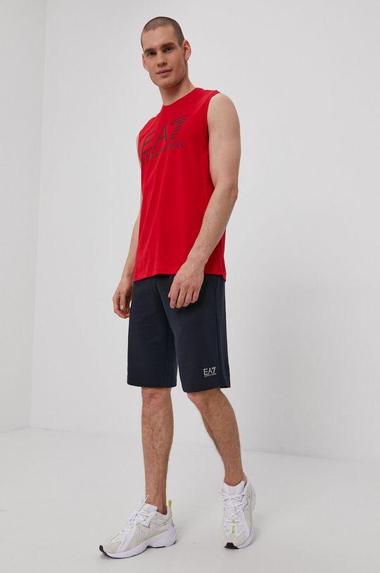EA7 Emporio Armani - Tričko červená