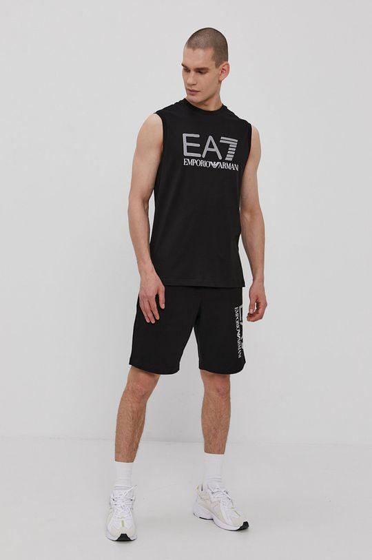 EA7 Emporio Armani - T-shirt czarny
