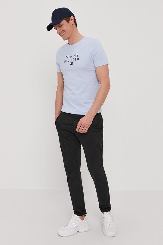 Tommy Hilfiger - T-shirt jasny niebieski