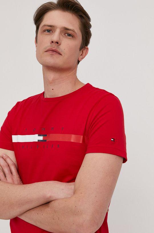 červená Tommy Hilfiger - Tričko