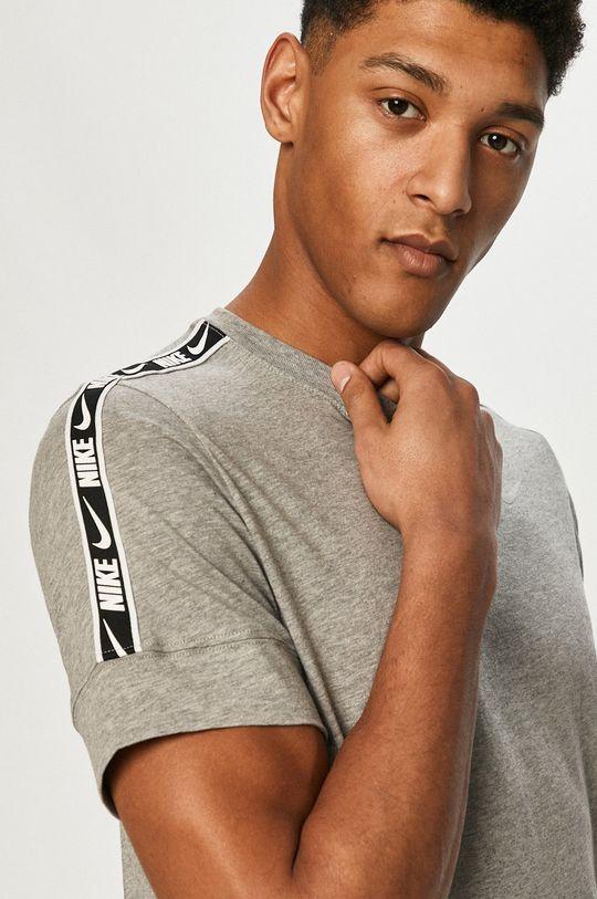 svetlosivá Nike Sportswear - Tričko Pánsky