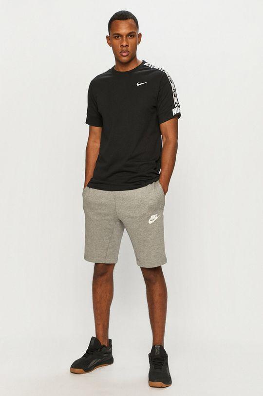 Nike Sportswear - T-shirt czarny