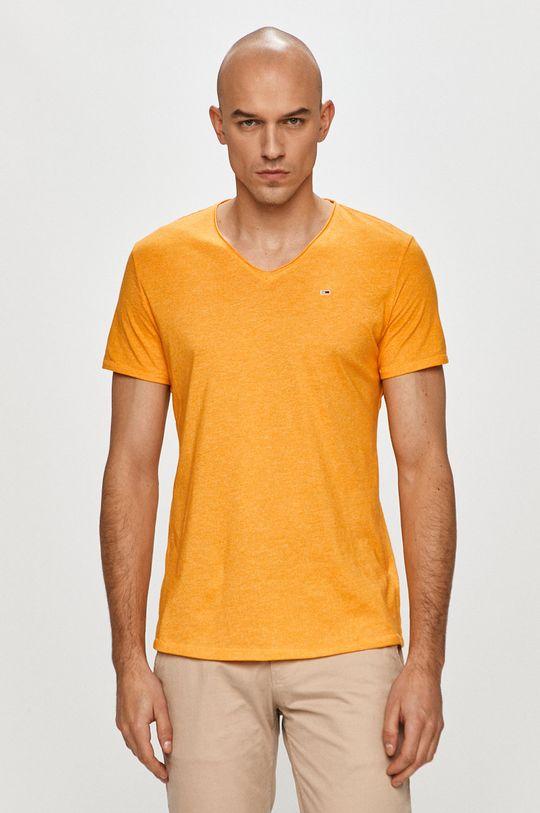 pomarańczowy Tommy Jeans - T-shirt