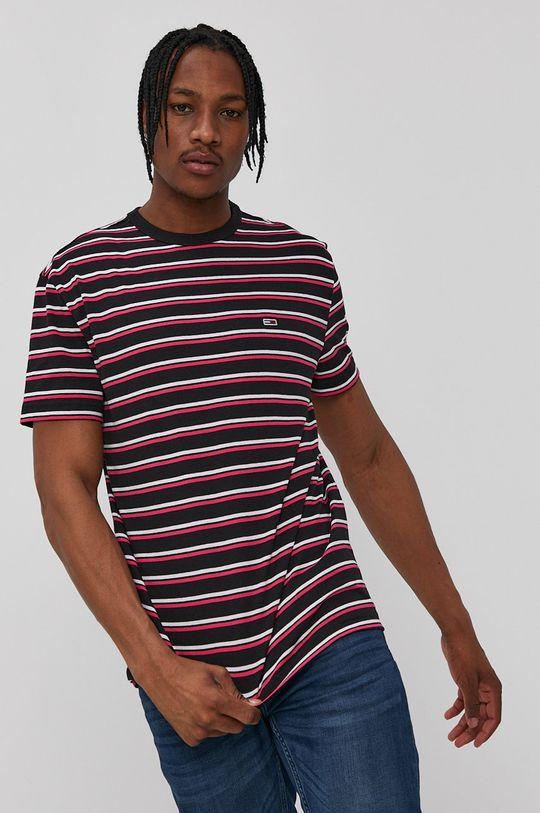 bledofialový Tommy Jeans - Tričko