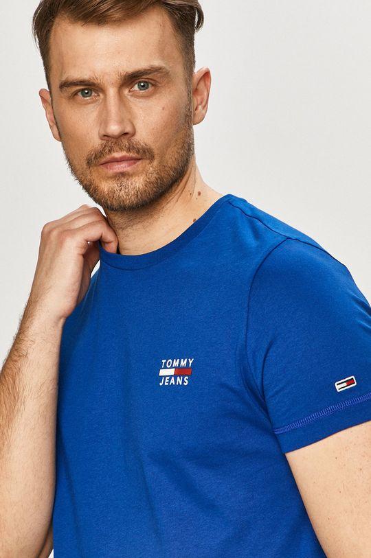 modrá Tommy Jeans - Tričko Pánsky
