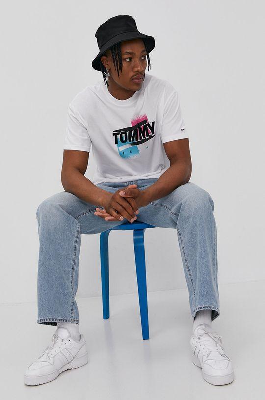 Tommy Jeans - Tričko bílá