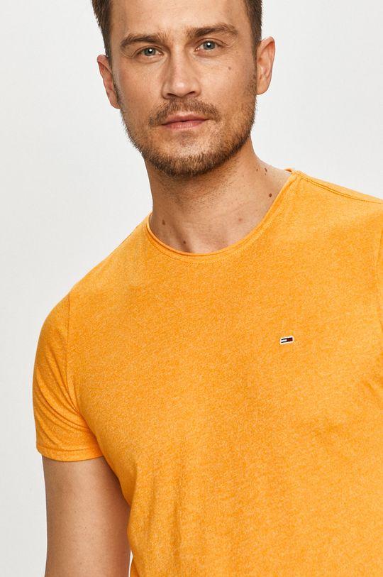 oranžová Tommy Jeans - Tričko