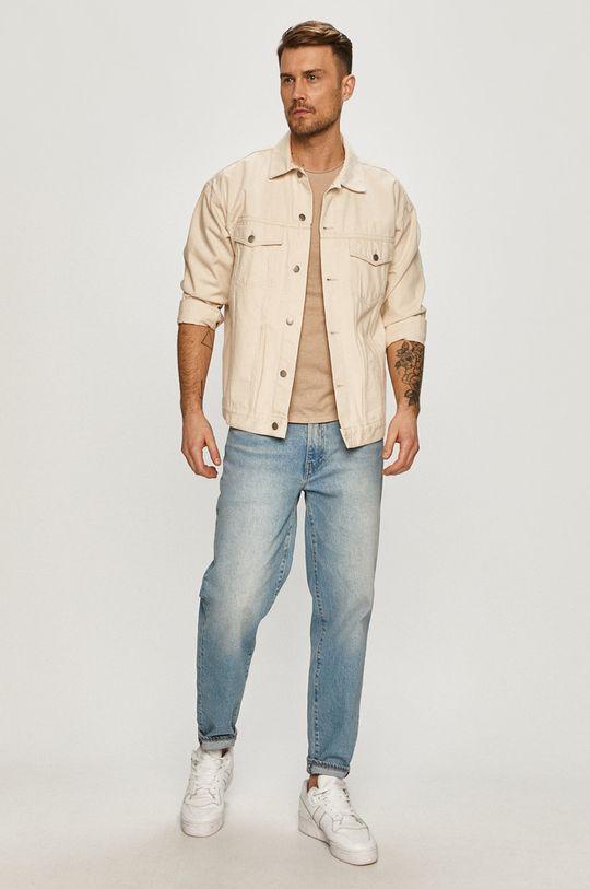 Tommy Jeans - Tričko béžová