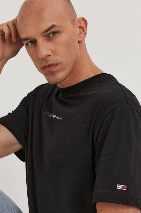 czarny Tommy Jeans - T-shirt