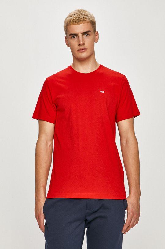 rosu Tommy Jeans - Tricou De bărbați