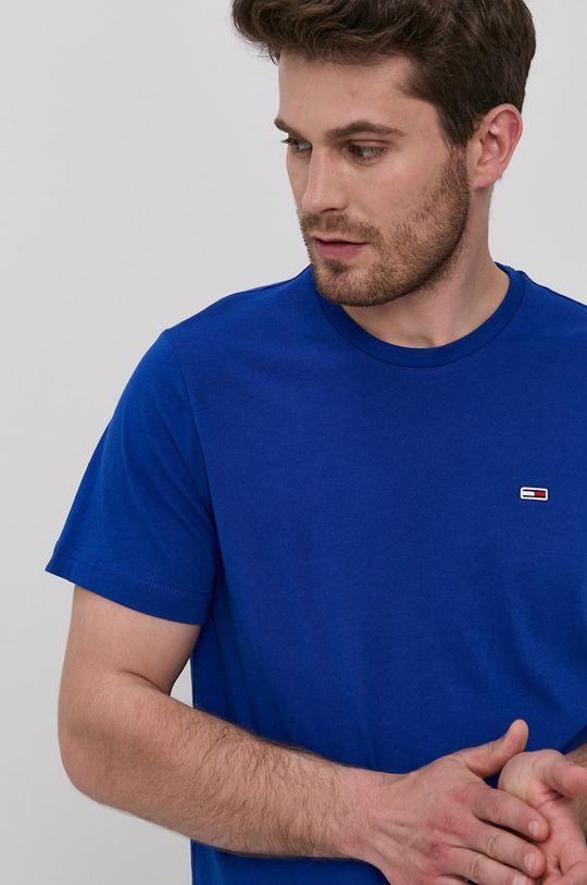 fialová Tommy Jeans - Tričko