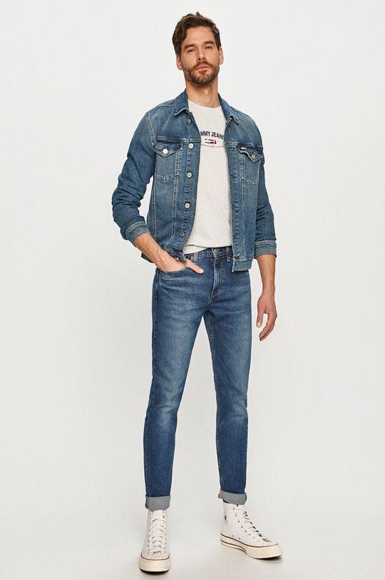 Tommy Jeans - Tričko světle šedá