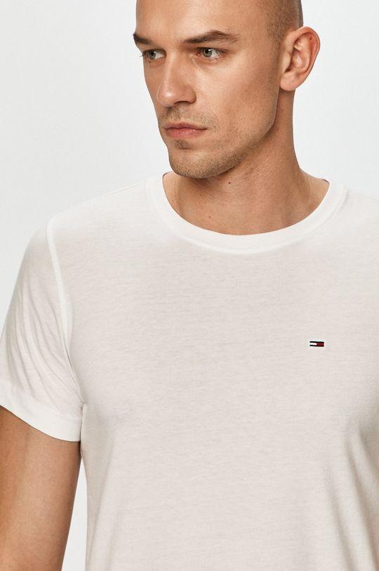bílá Tommy Jeans - Tričko (2-pack) Pánský