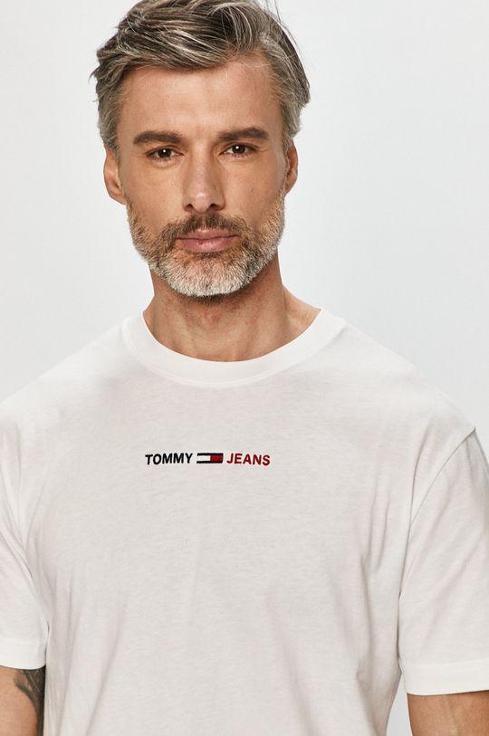 bílá Tommy Jeans - Tričko