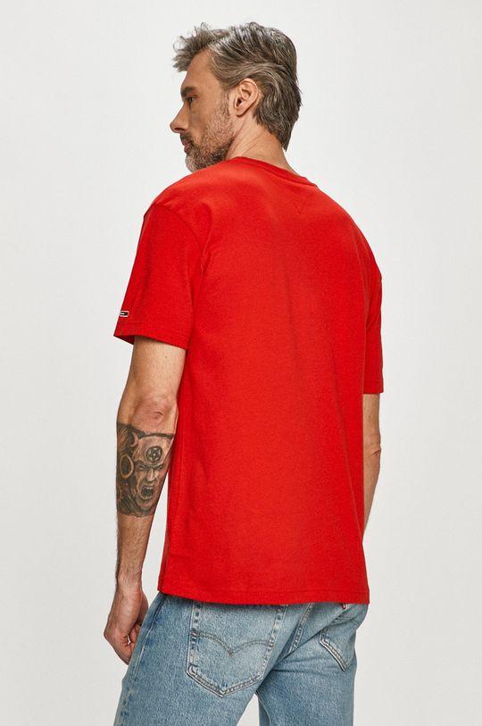 Tommy Jeans - T-shirt 100 % Bawełna organiczna