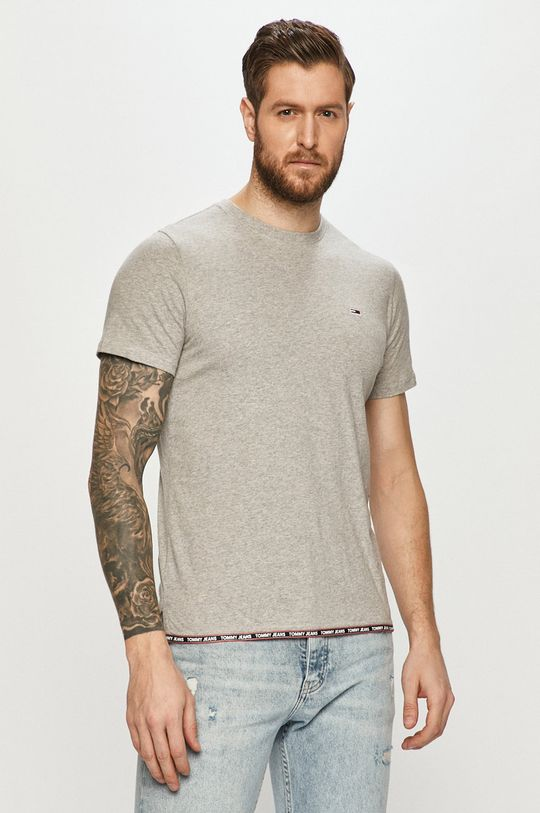 gri deschis Tommy Jeans - Tricou De bărbați