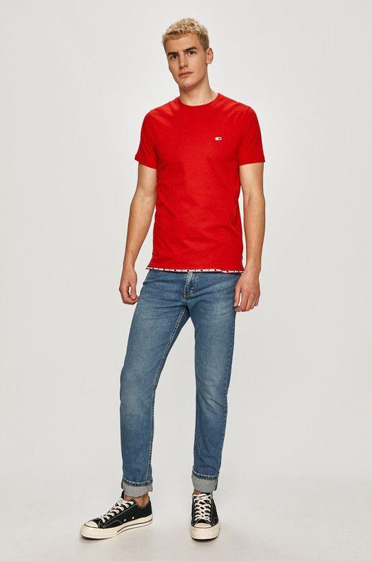 Tommy Jeans - Tričko červená