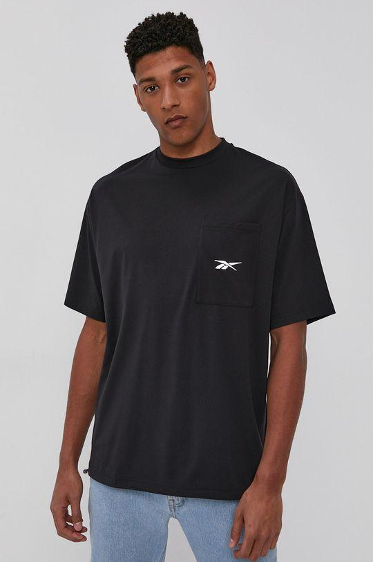 čierna Reebok - Tričko Pánsky