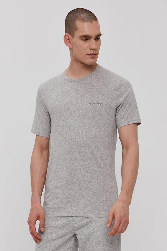 jasny szary Calvin Klein Underwear - T-shirt Męski