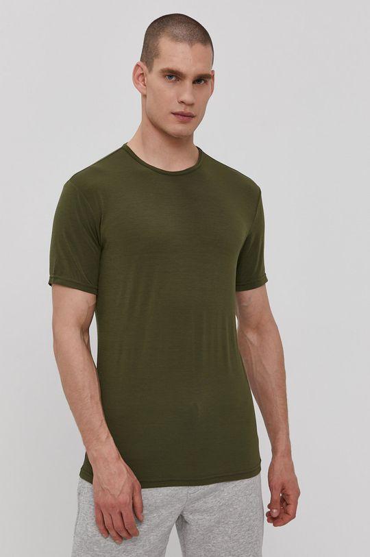 hnedo zelená Calvin Klein Underwear - Tričko CK One Pánsky