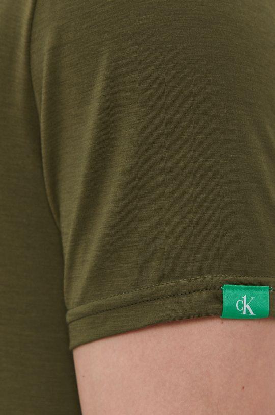 hnedo zelená Calvin Klein Underwear - Tričko CK One
