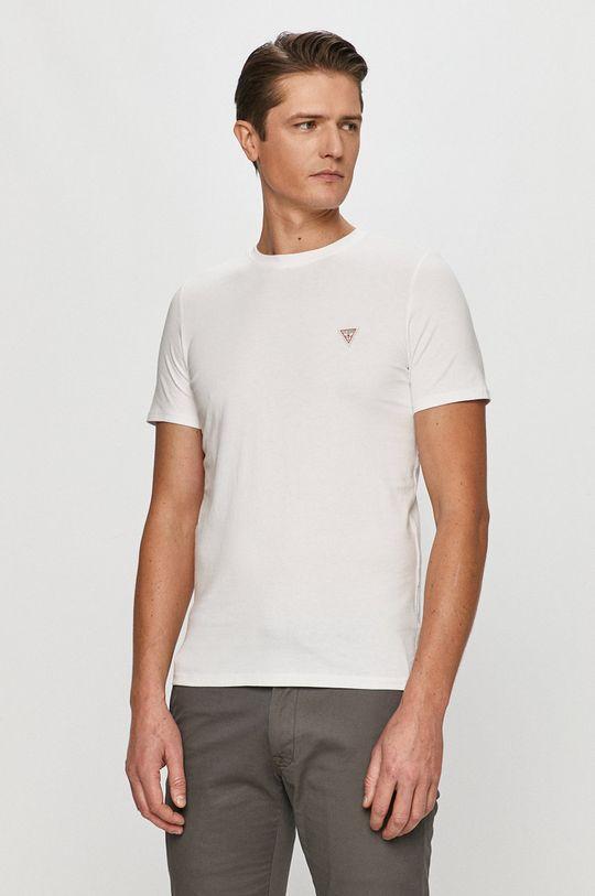 bílá Guess - Tričko Pánský