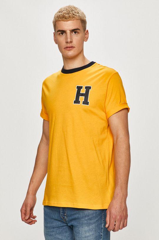 galben Tommy Hilfiger - Tricou De bărbați