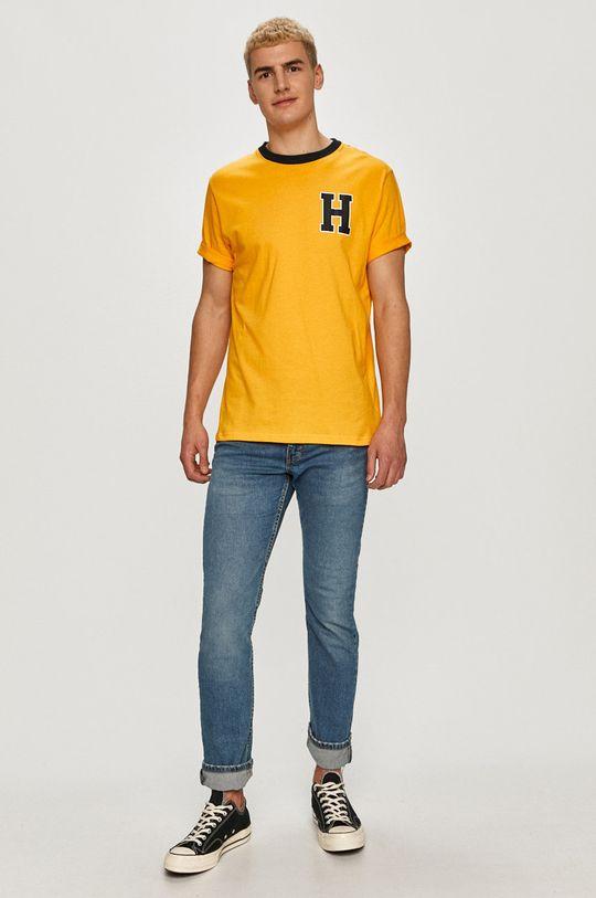 Tommy Hilfiger - Tricou galben