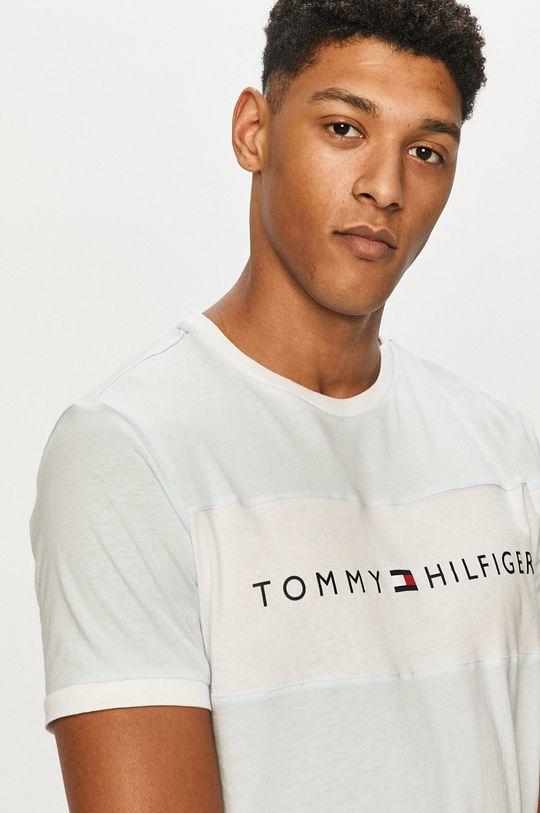 blady niebieski Tommy Hilfiger - T-shirt Męski