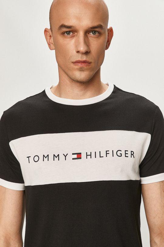 černá Tommy Hilfiger - Tričko Pánský