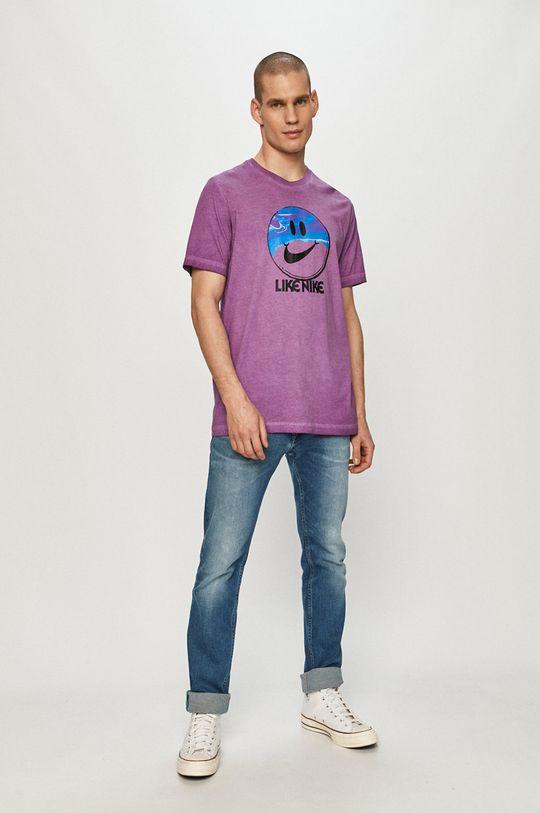 Nike Sportswear - Tričko purpurový