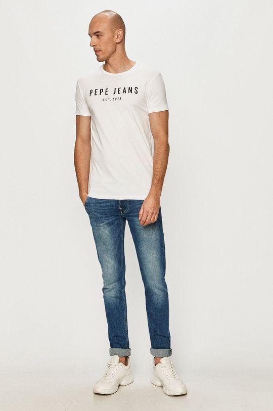 Pepe Jeans - Tričko Pol biela